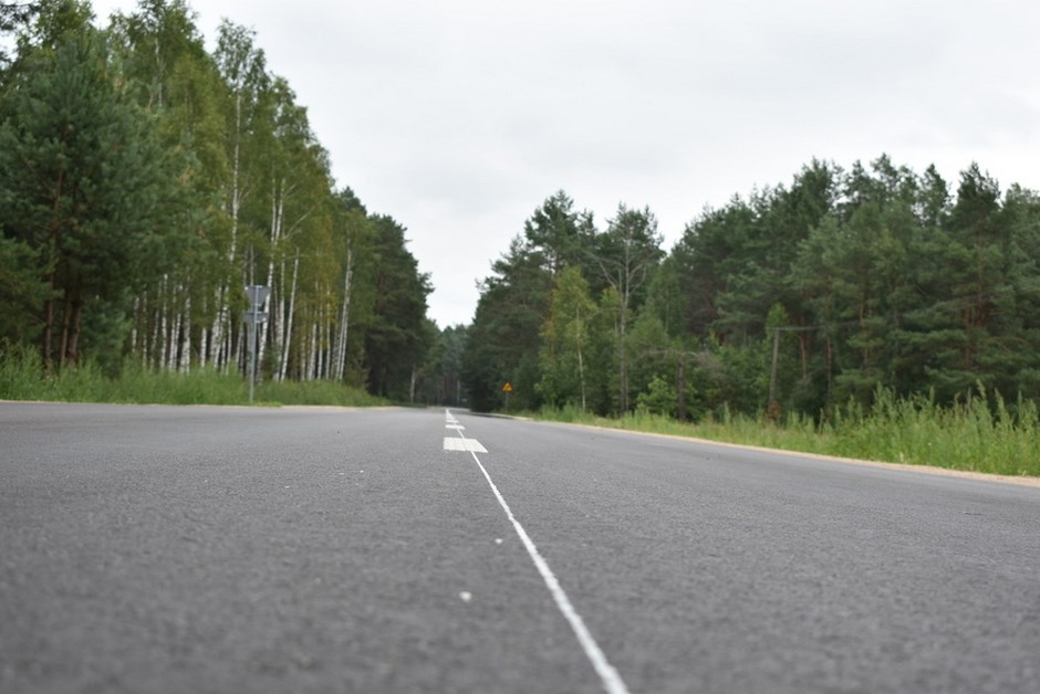Powiat ostrołęcki: Droga łącząca województwa została zmodernizowana
