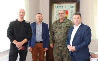 """Gmina Kolno: Franciszek Grala z medalem """"Za Zasługi dla Obronności Kraju"""""""