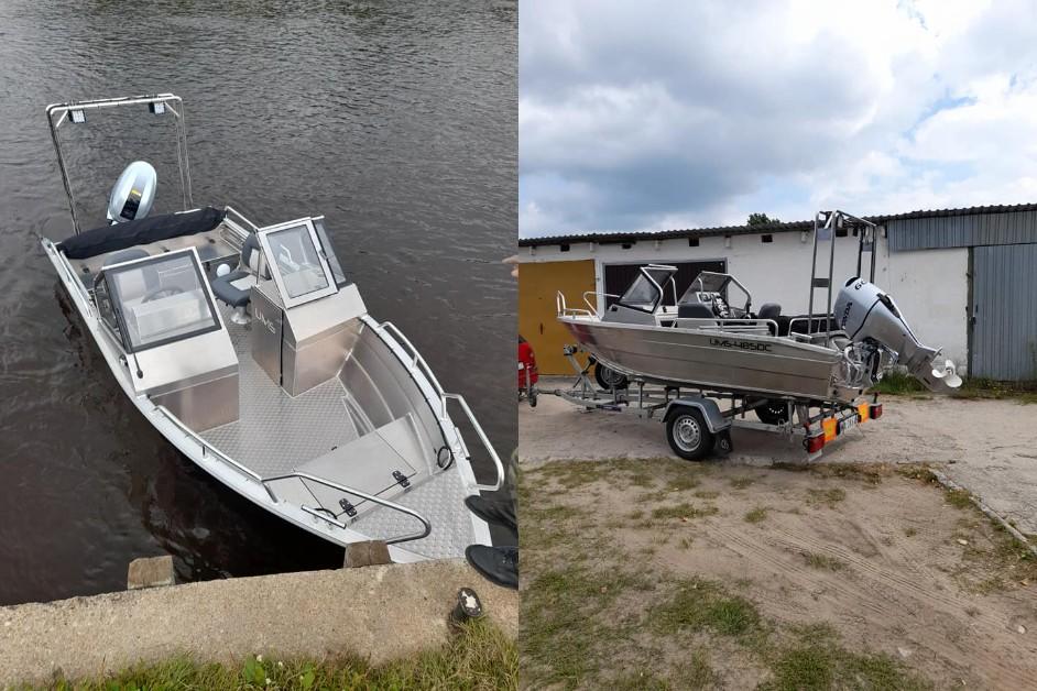 Ostrołęka: Społeczna Straż Rybacka ma nową łódź