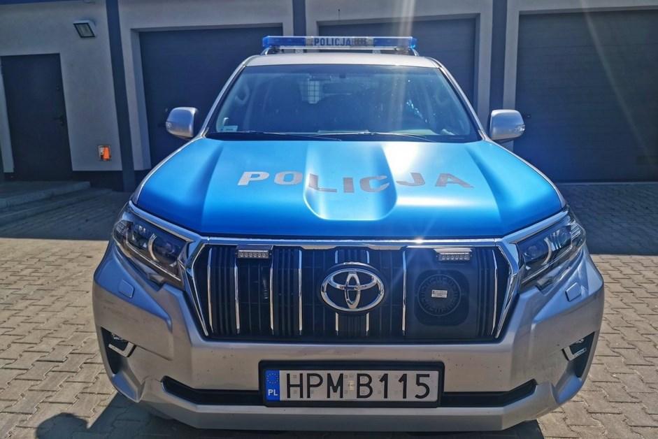 Łomża: Nowy radiowóz w policyjnej flocie