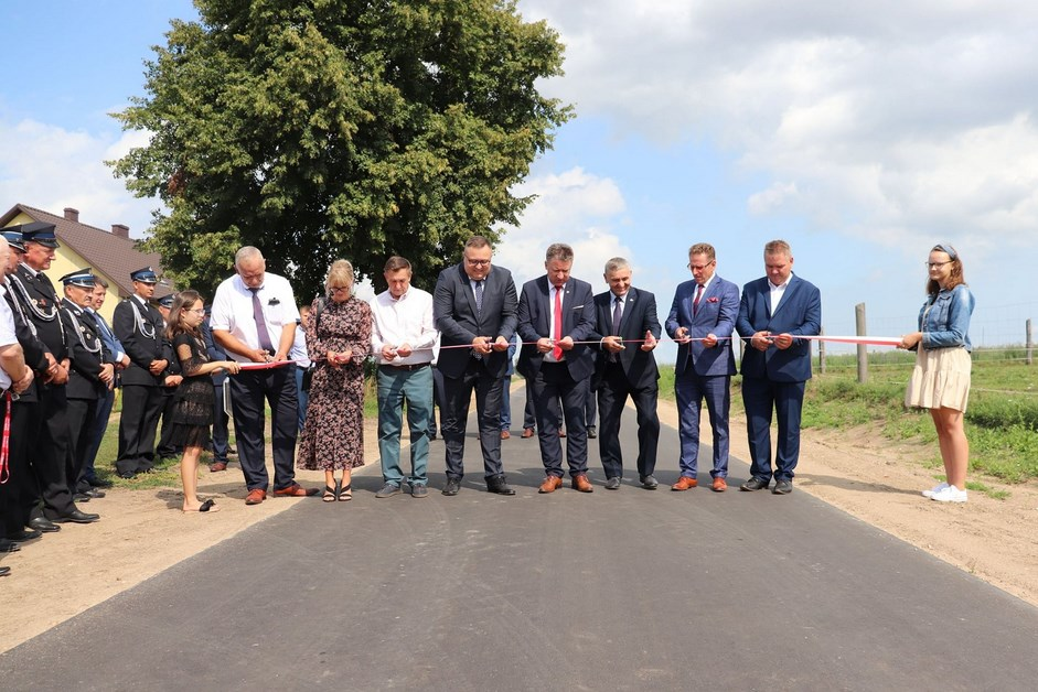 Gmina Kolno: Nowa droga w Zaskrodziu oddana do użytku