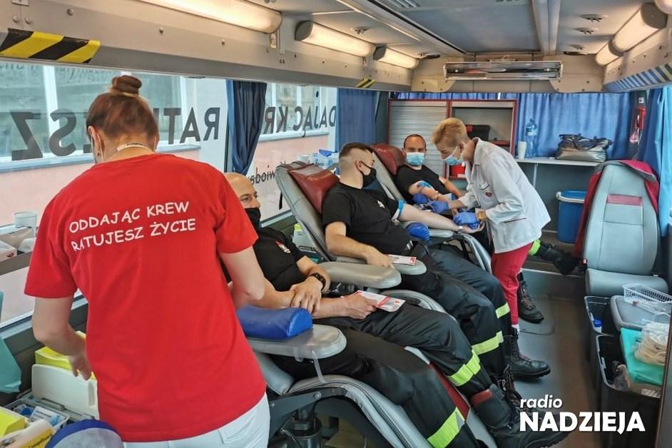 Łomża: Oddaj krew w mobilnym punkcie przy starostwie