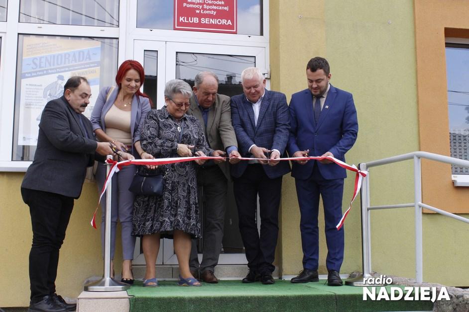 Łomża: Klub Seniora w nowej siedzibie