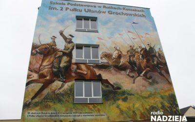 Rutki-Kossaki: Mural upamiętnia 2. Pułk Ułanów Grochowskich