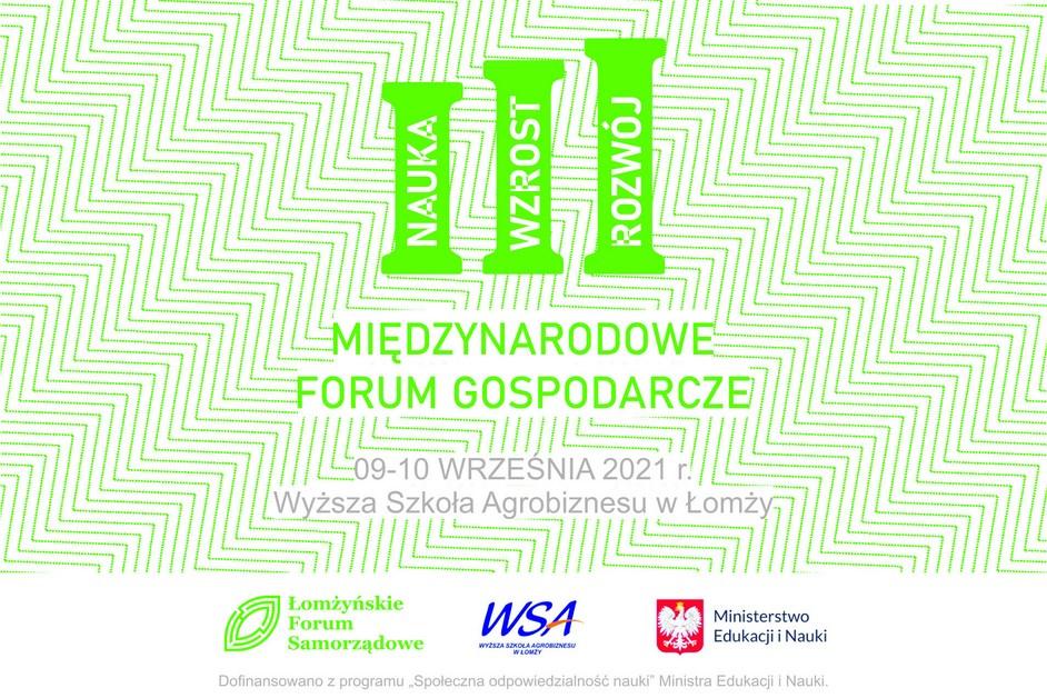 Łomża: Przed nami III Międzynarodowe Forum Gospodarcze