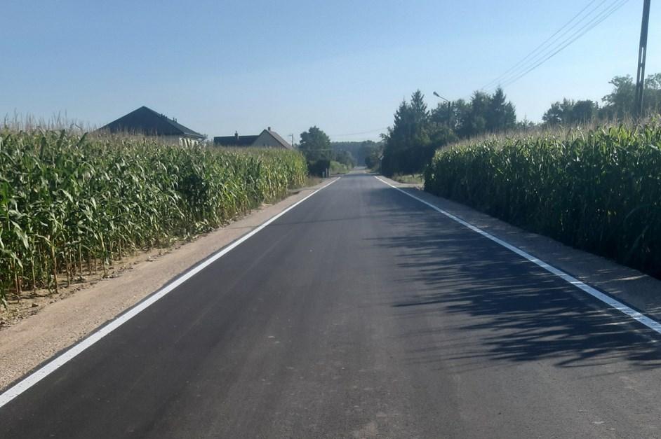 Gmina Łyse: W Tartaku mają nową drogę