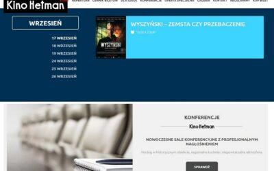 Tykocin: Kino Hetman zaprasza na pierwsze seanse