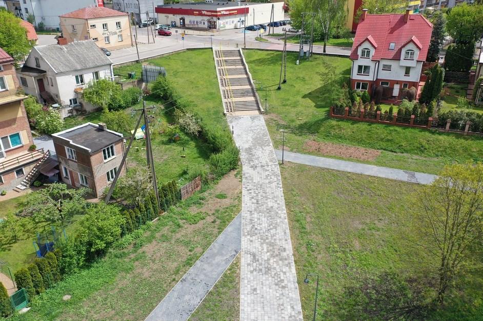 Grajewo: Schody w Parku Solidarności przejdą modernizację