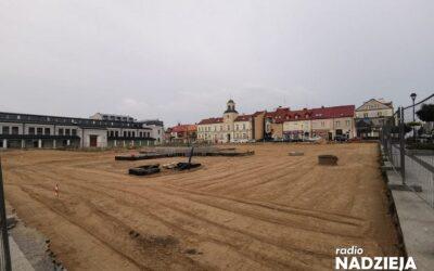 Łomża: rewitalizacja Starego Rynku jeszcze nie w tym roku