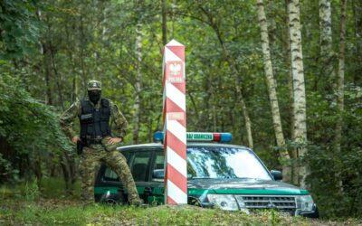 SG: wczoraj 682 próby nielegalnego przekroczenia granicy z Białorusi do Polski