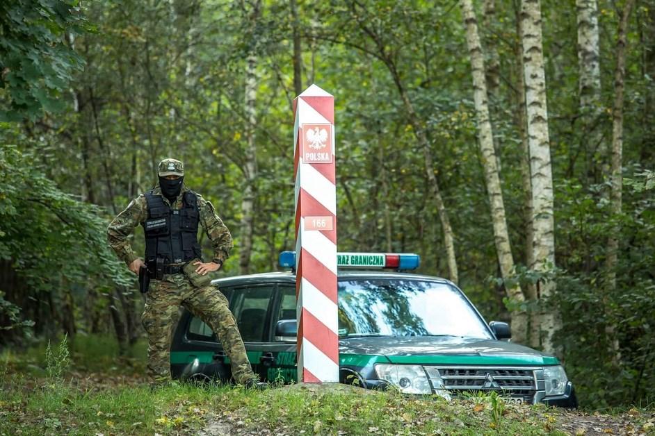 Straż Graniczna: 311 prób nielegalnego przekroczenia granicy polsko-białoruskiej