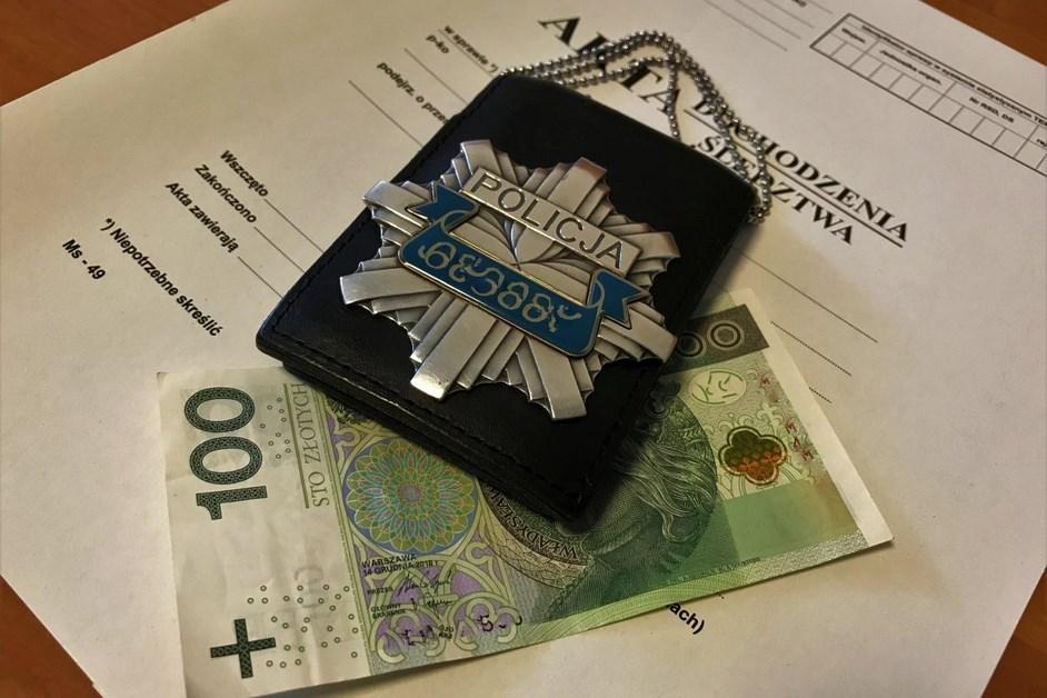 Powiat kolneński: Zamiast przyjąć mandat, chciał wręczyć łapówkę