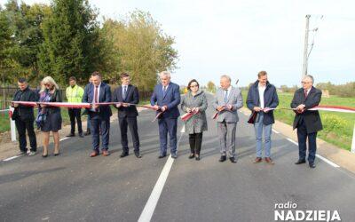 Gmina Radziłów: Nowy, bezpieczny odcinek DW 668 oddany do użytku