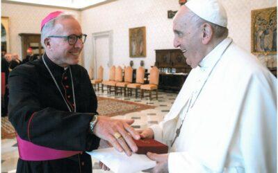 Wiara: Bp Janusz Stepnowski spotkał się z papieżem Franciszkiem