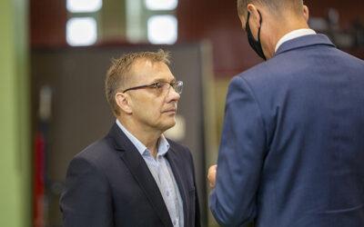 Gmina Łomża: Karol Łebkowski odznaczony za zasługi dla sportu