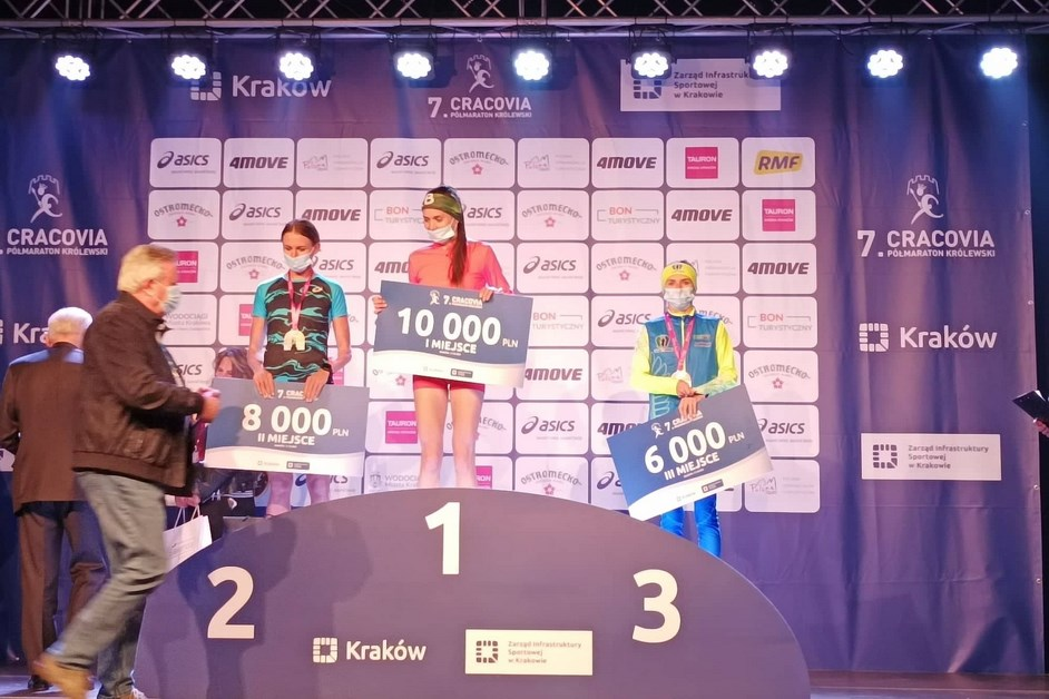 Lekkoatletyka: Iwona Bernardelli na podium Cracovia Półmaraton Królewski