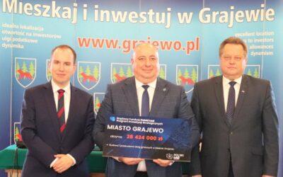 Grajewo: Miliony z Polskiego Ładu na rozbudowę infrastruktury
