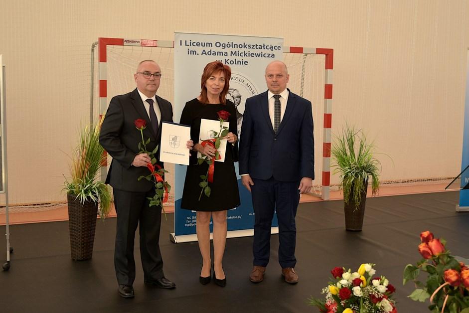 Powiat kolneński: Nauczyciele zostali nagrodzeni za swoją pracę