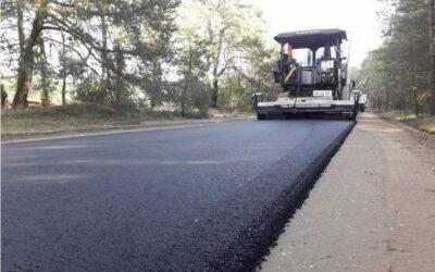 Gmina Kolno: Na drodze Kozioł–Szablaki wylano już asfalt
