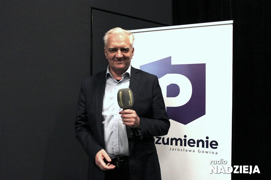 Popołudniówka: Jarosław Gowin, prezes Porozumienia