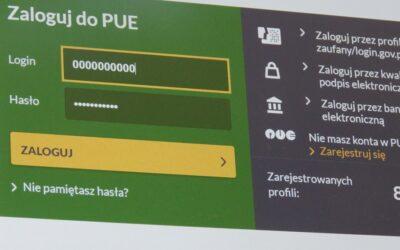 ZUS: Zmiany w rejestracji i logowaniu do portalu PUE