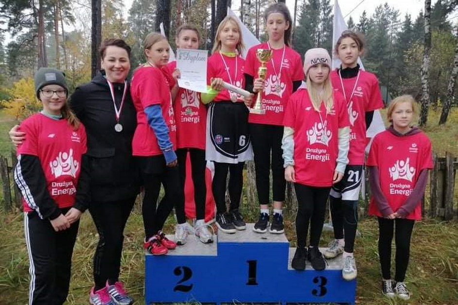 Łomża: Wicemistrzynie województwa z SP4